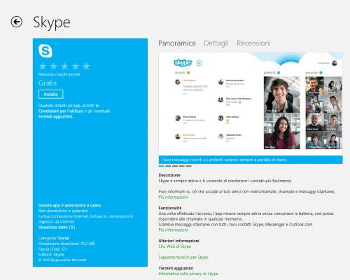 skype,app skype windows 8