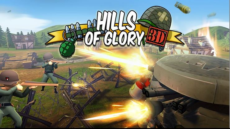 Hills Of Glory 3D free gioco d' azione in 3D per windows 8.1