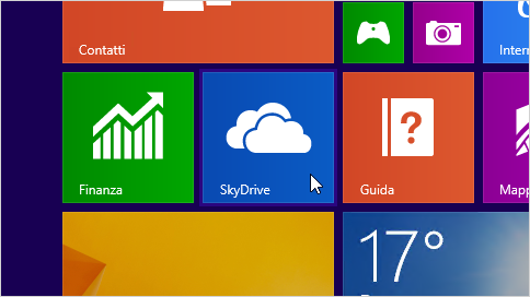 Menu mini Start per windows 8.1 in un aggiornamento microsoft