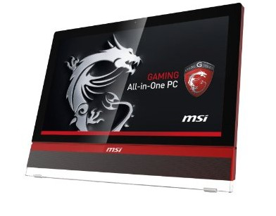 Primo all-in-one ideale per il gioco MSI AG2712a windows 8.1