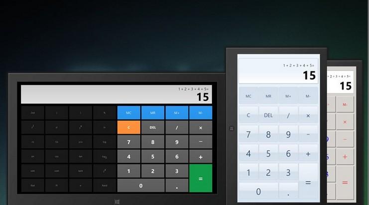 Perfeziona windows 8.1 con l'applicazione calcolatrice X8