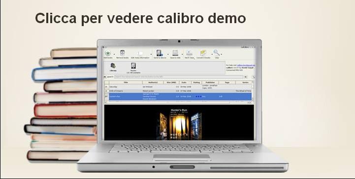 Calibre migliore programma per gestire e-book su tablet, smartphone e pc desktop