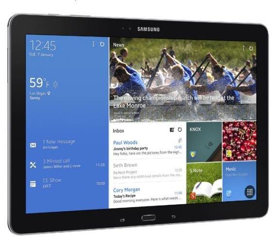 Moderna interfaccia Android su Samsung, simile alla interfaccia windows 8.1