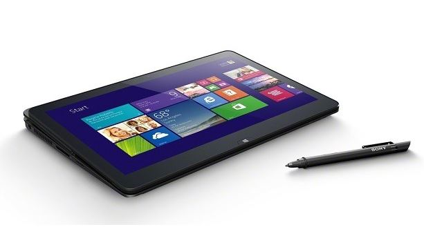 Fiammante Sony Vaio Fit 11A con windows 8.1 presentato al Ces 2014