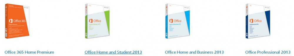 Quale versione office scegliere per windows 8.1
