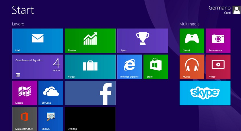 Come effettuare ricerca file, impostazioni, immagini e video in windows 8.1