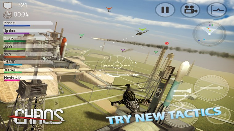 CHAOS Multiplayer Air War 2
