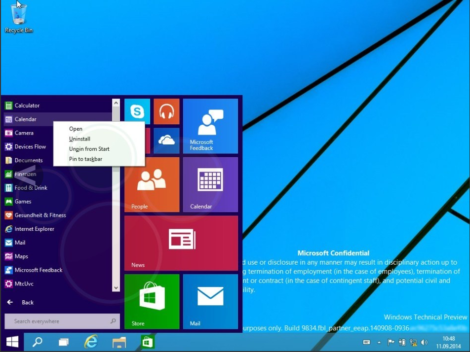 windows 9 preview3