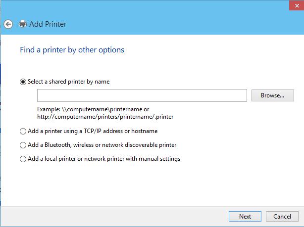 addprinter finale