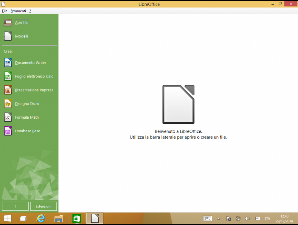 libre office windows 10