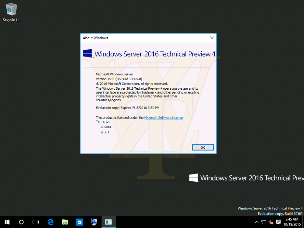 windows server 2016 1