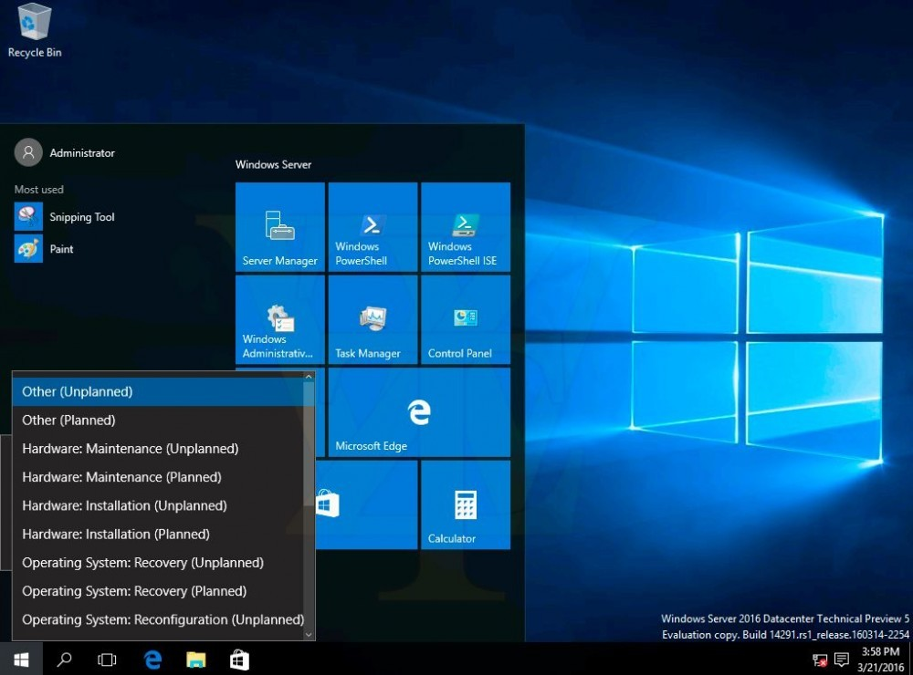 windows server 2016 technical preview  5-7